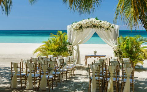 Couples Swept Away Beach Gazebo Wedding