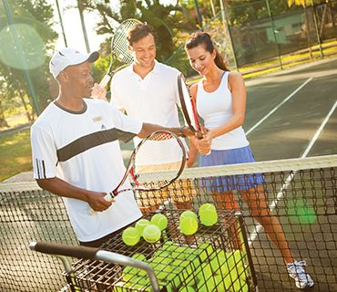 Complimentary Tennis Lessons image