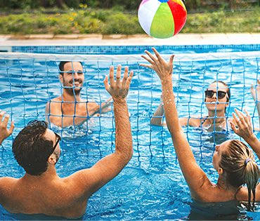 Pool Volleyball image